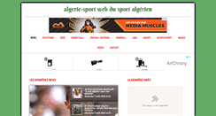 Preview of algerie-sport.net