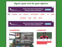 Tablet Preview of algerie-sport.net